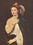TIZIANO Vecellio Portrait of a Young Woman r oil painting picture wholesale