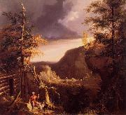Thomas Cole Daniel Boone Sitting oil painting