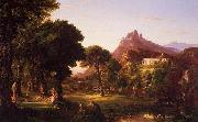 Thomas Cole Dream of Arcadia oil painting picture wholesale
