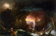 Thomas Cole Voyage of Life Manhood oil painting picture wholesale