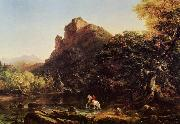 Thomas Cole Mountain Ford oil painting picture wholesale