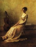 Thomas Dewing The Musician oil painting