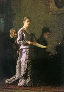 Thomas Eakins The Pathetic Song oil painting picture wholesale
