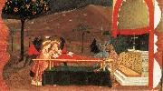 UCCELLO, Paolo Miracle of the Desecrated Host (Scene 6) wt oil painting on canvas