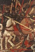 UCCELLO, Paolo Bernardino della Ciarda Thrown Off His Horse (detail) wt oil painting