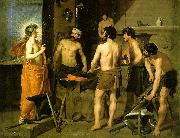 VELAZQUEZ, Diego Rodriguez de Silva y The Forge of Vulcan we oil painting picture wholesale