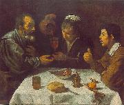 Peasants at the Table (El Almuerzo) r