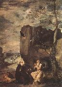 VELAZQUEZ, Diego Rodriguez de Silva y Sts Paul the Hermit and Anthony Abbot ar oil painting picture wholesale