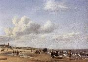 The Beach at Scheveningen wr