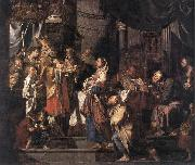 VERHAGHEN, Pieter Jozef The Presentation in the Temple a er oil painting picture wholesale