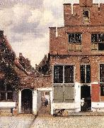 VERMEER VAN DELFT, Jan The Little Street st oil painting picture wholesale