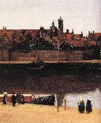 VERMEER VAN DELFT, Jan View of Delft (detail) est oil painting picture wholesale