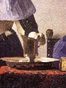 Young Woman with a Water Jug (detail) re