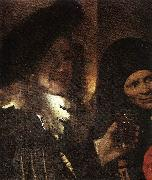 VERMEER VAN DELFT, Jan The Procuress (detail) rt oil painting picture wholesale