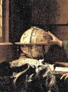 VERMEER VAN DELFT, Jan The Astronomer (detail) wet oil painting picture wholesale