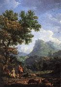 VERNET, Claude-Joseph Shepherd in the Alps  we r oil painting picture wholesale