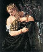 VERONESE (Paolo Caliari) Lucretia  qwr oil painting picture wholesale