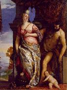 VERONESE (Paolo Caliari) Allegory of Wisdom and Strength wt oil painting picture wholesale