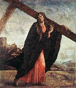 VIVARINI, family of painters Christ Carrying the Cross er oil painting picture wholesale