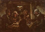 Vincent Van Gogh The Potato Eaters oil painting picture wholesale