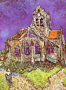 Vincent Van Gogh Church at Auvers oil painting picture wholesale