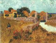 Vincent Van Gogh Farmhouse in Provence oil painting artist