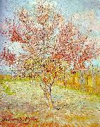 Vincent Van Gogh Peach Tree in Bloom oil painting picture wholesale