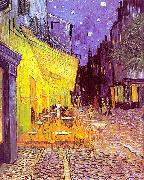 Vincent Van Gogh The Cafe Terrace on the Place du Forum, Arles, at Night oil painting artist
