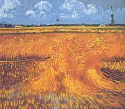 Wheatfields With Cypress at Arles