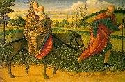 Vittore Carpaccio The Flight into Egypt oil painting reproduction