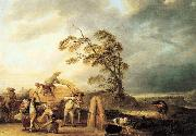 WATTEAU, Louis-Joseph The Storm21 oil painting picture wholesale