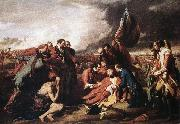 WEST, Benjamin The Death of General Wolfe oil painting
