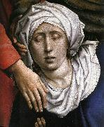WEYDEN, Rogier van der Deposition (detail) oil painting picture wholesale