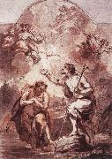 WIT, Jacob de Baptism of Christ in the Jordan oil painting picture wholesale
