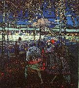 Wassily Kandinsky Riding Couple oil painting picture wholesale