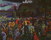 Wassily Kandinsky Colorful Life oil painting picture wholesale