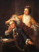 David Garrick and His Wife