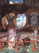 William Holman Hunt The Lady of Shalott oil painting artist