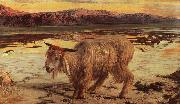 William Holman Hunt The Scapegoat oil painting artist