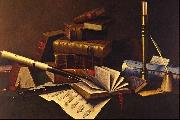 William Michael Harnett Music and Literature oil painting picture wholesale