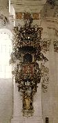 ZIMMERMANN  Dominikus Pulpit oil painting reproduction