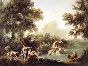 ZUCCARELLI  Francesco The Rape of Europa oil painting reproduction