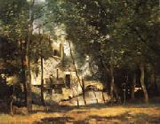camille corot the mill of Saint-Nicolas-les-Arraz oil painting picture wholesale