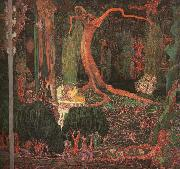 Jan Toorop Desire and Gratification(The Appeasing) oil painting reproduction