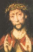 Bouts, Aelbrecht Man of Sorrows oil painting