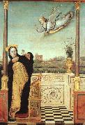 Braccesco, Carlo di The Annunciation oil painting reproduction
