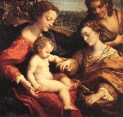 Correggio The Mystic Marriage of St Catherine oil painting reproduction