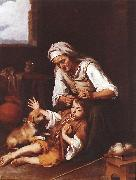 MURILLO, Bartolome Esteban The Toilette sg oil painting picture wholesale