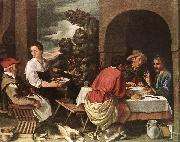ORRENTE, Pedro The Supper at Emmaus ag oil painting picture wholesale