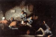 OSTADE, Adriaen Jansz. van Inn Scene ag oil painting picture wholesale